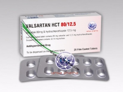 Valsartan and Hydrochlorothiazide Tablets