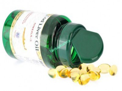 Natural vitamin E & Cod liver oil softgel