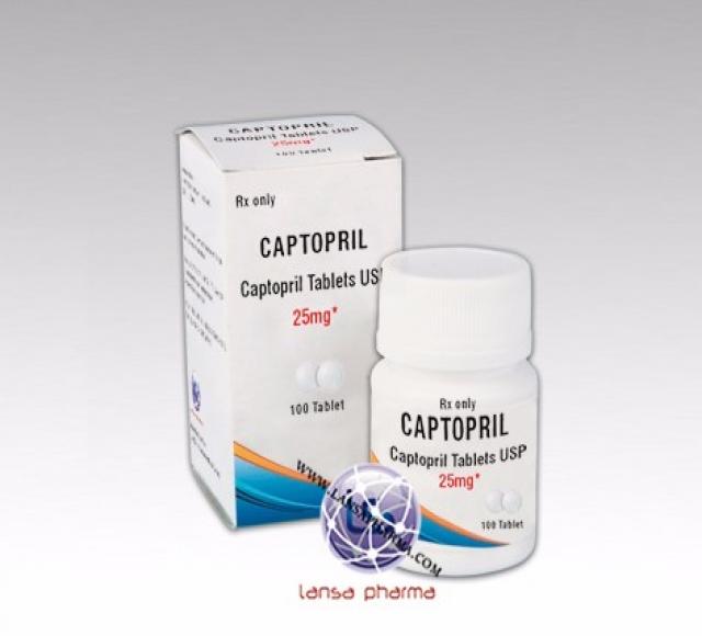 Captopril tablet